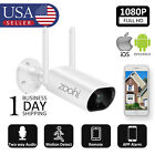 1080P Wireless Security Camera System WiFi Outdoor  Night Vision 2-way Audio US