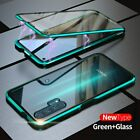 360° Double Glass Magnetic Adsorption Case Cover for Huawei P30 P20 Lite Pro