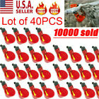 20 PACK Poultry Water Drinking Cups Chicken Hen Plastic Automatic Drinker USA