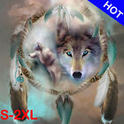 Full Drill Wolf Dream Catcher 5D Diamond Painting Embroidery Cross Stitch Kit US