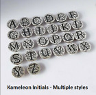 -NEW- AUTHENTIC Kameleon Sterling Silver Alphabet pops  image