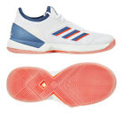 adidas Adizero Ubersonic 3 Women's Tennis Shoes White Racket Racquet NWT EF1154