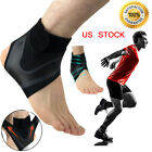 Ankle Support Compression Plantar Fasciitis Sleeve Sport Foot Wrap Strap Brace $8.09 USD on eBay