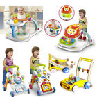Kyпить 4 in 1 Sit-to-stand Baby Walker Stroller Stroller Toddler Hand Trolley Music Toy на еВаy.соm