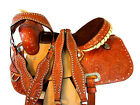 USED WESTERN SADDLE 15 16 PLEASURE SHOW BARREL RACING HORSE TRAIL SHOW RODEO SET