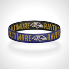 Reversible Baltimore Ravens Bracelet Wristband on eBay