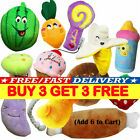 Pet Dog Soft Chew Toy Puppy Doggy Plush Sound Eggplant Carrot Squeaker ToyK
