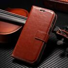 Brown Luxury Flip Cover Stand Wallet Leather Case For Apple 5s 5 6s 6 Plus 7 8 X