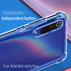 For Xiaomi Mi 9 SE 9T Pro A3 Lite Shockproof Clear Silicone Soft TPU Case Cover