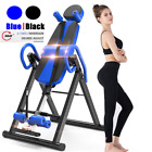 Heavy Duty Foldable Premium Gravity Inversion Table Sport Back Therapy Fitness image