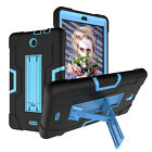 "For Alcatel 3T/Joy Tab 8"" Case Hybrid Rugged Full Protective 3T Screen Protector"