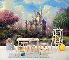 3D Fantasy Castle B65 Business Wallpaper Wall Mural Self-adhesive Commerce Wendy