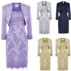 Mother Of The Bride Dresses With Jacket Wedding Guest Gown Two Pieces Plus Size