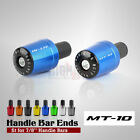 CNC 7/8 22MM Handle Bar Grips End Weights Caps Plugs Slider for YAMAHA MT10 FZ10