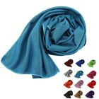 12Colors Cool Towel Ice Cold Running Jogging Gym Instant Outdoor Sports Towel US image