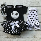 US Seller Newborn Infant Baby Girl Halloween Romper Clothes Leg Warmers Outfit