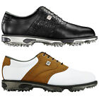 FootJoy Mens DryJoys Tour Golf Shoes - Waterproof Leather FJ Logo Classic Sports
