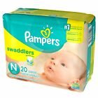 Kyпить Baby Diaper Pampers® Swaddlers™ Tab Closure Newborn Disposable Heavy Absorbency на еВаy.соm