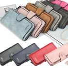 Long Leather Wallet for Women Lady Trifold Card Clutch Phone Bag Purse Handbag image