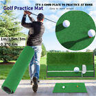 Golf Practice Net Mat Grass Driving Holder Out/Indoor Training Backyard Pad Turf