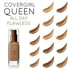 CoverGirl Queen Collection All Day Flawless 3 in 1 Foundation CHOOSE YOUR SHADE