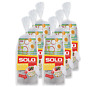 SOLO Cup Company Solo Cup Paper Snack Bowl with Lid, 60 Count AVS12BC-K0877