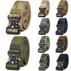 Mens Nylon Military Tactical Waistband Hunting Buckle Training Combat Waist Belt