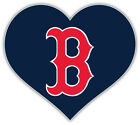 "Boston Red Sox Heart MLB Baseball Sport Car Bumper Sticker Decal  ''SIZES"" on Ebay"