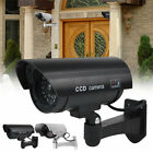 Waterproof Flash Red LED IR Cam Dummy Security Camera Fake Cam Outdoor