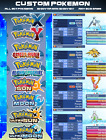 ALL 807 Custom Pokemon Shiny Bundle 6IV for XY, ORAS, Ultra Sun/Moon , Sun/Moon
