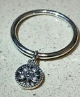 PANDORA DANGLING FAMILY RING , 197782CZ, S925 ALE STERLING SILVER,ALL SIZE+POUCH