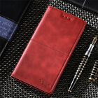 For Sony Xperia 5, 1, 10 XZ3 XA2 Premium Leather Magnetic Flip Wallet Case Cover