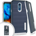 LG Stylo 5 Deluxe Brushed Case Protective Cover