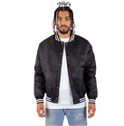 SHAKA MENS CASUAL COMFORT BOMBER BASEBALL JACKET CASUAL VARSITY COAT LETTERMAN