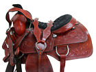 17 16 RODEO WESTERN SADDLE ROPING ROPER RANCH WORKING HORSE TACK PREMIUM TOOLED