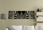 Zebra Safari Cool Animal Living Room Wall Art Stickers Decal Decor Uk 67