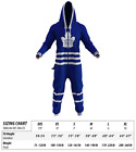 Hockey Sockey Toronto Maple Leafs NHL Full Bodysuit Onsie With Pockets TML $79.99 USD on eBay