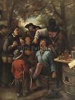 JAN STEEN THE QUACKDOCTOR 1 ARTIST PAINTING REPRODUCTION HANDMADE OIL CANVAS ART