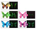 12pcs Luminous Butterfly Design Decal Art Wall Stickers Room Magnetic Home Decor