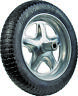 More images of JACKSON SFFTCC Wheelbarrow Tire, 16 in Dia Tire, Rubber Tire