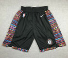 New Adult Size Black Color City Version Brooklyn Nets Shorts Size S-XXL
