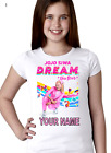 Jojo Siwa Personalised T-Shirt Venue UK Tour.100% COTTON/    no Glasgow order
