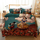 3D Disney Mickey Mouse Bedding Set Duvet Cover Pillowcase Quilt/Comforter Cover