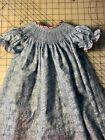 READY TO SMOCK SNOW FLAKE BISHOP DRESS SIZES 3months to 6T