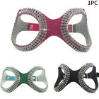 Safe Dog Harness Walking Pet Adjustable Protect Artificial Leather Rhinestone