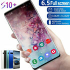 """6.5"""" S10 Smart Mobile Phone Dual Sim Android 9.1 Face Id Unlocked"""