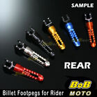 For Triumph Speed Triple 955i 99 00 01 02 03 04 BoB 6 COLOR CNC Rear Foot pegs $32.8 USD on eBay