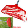 More images of Gardening Tools Plastic Agricultural Grass Rake Lawn Odorless Non-toxic 26 Teeth