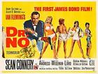 Dr.No ver3 James Bond 007 Movie Poster Canvas Picture Art Wall Decore £37.0 GBP on eBay