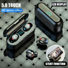 ipx6 bluetooth 5 0 headset tws wireless earphones mini earbuds stereo headphones